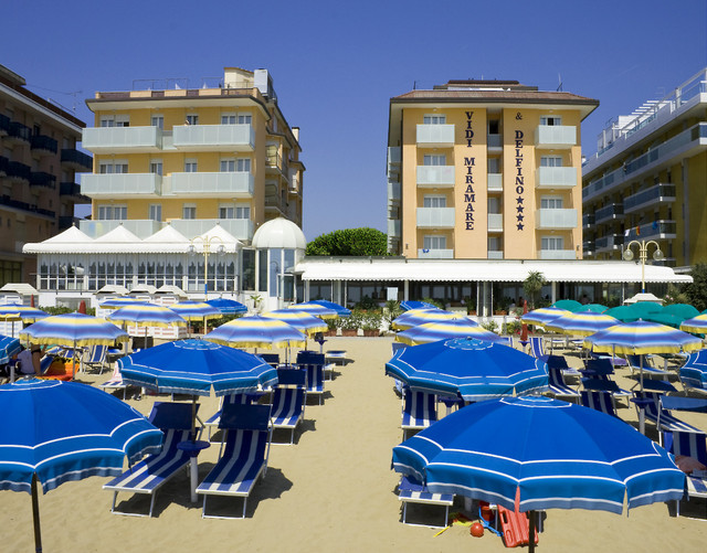 Hotel In Jesolo Direkt Am Strand
